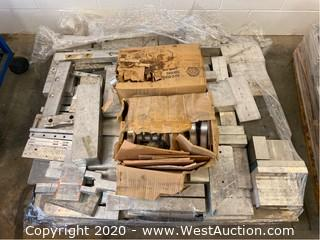 Pallet Of Aluminum Remnants And Parts