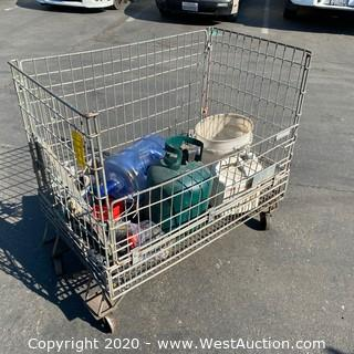 Rolling Wire Cage