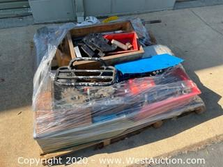 Pallet of Assorted Metal Components & Parts