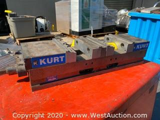 Kurt DL600C Machine Vise