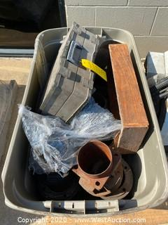 Bin of Air Compressor Parts, Empty O-ring Kit,
