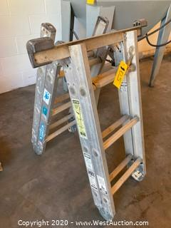 Werner Aluminum 12' Folding Ladder
