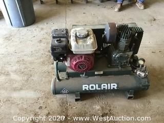 Rolair Air Compressor with Honda GX160