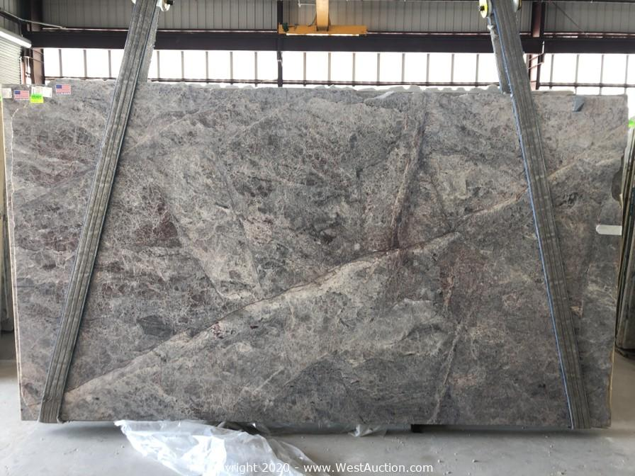Surplus Auction of (230) Exotic Natural Stone Slabs