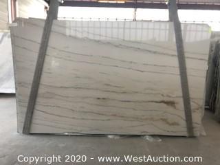 (7) Calacatta Quartzite 3cm (Block 2358)