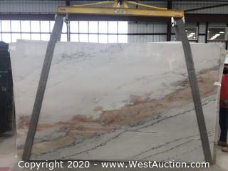 (7) Calacatta Quartzite 3cm (Block 18)