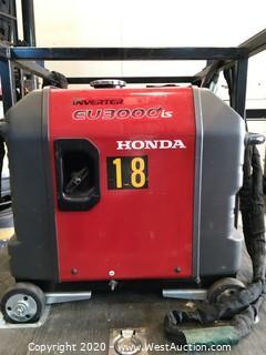 Honda EU3000 iS Generator