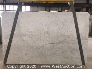 (7) Bianco Gioia Honed 3cm (White Carrara) (Block 314)