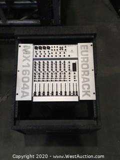 BERRINGER MX 1604A & DJ RACK