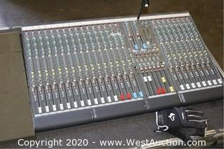 32ch Allen & Heath GL2200 Console In Case