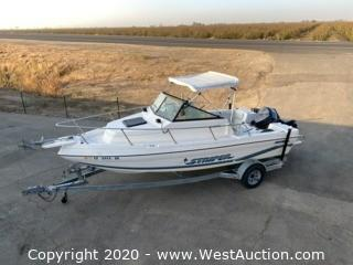 1995 Seaswirl Striper 2000 with 1995 Sport Trailer