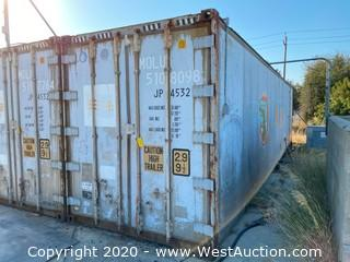40' Insulated Storage Container
