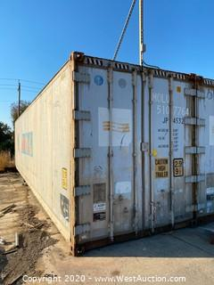 40' Insulated Sea Container