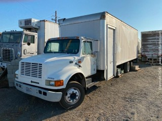2002 International 4700 Box Truck