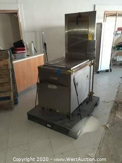 Lucks Gas Fired Donut Fryer