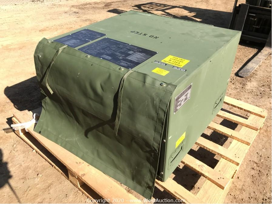 Online Auction of Snowbird ECU Military Air Conditioning Units