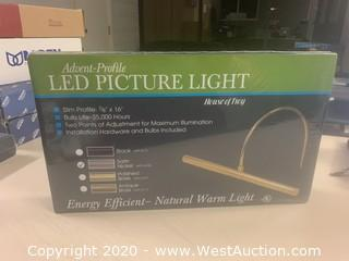 House Of Troy APL16-52 Satin Nickel LED Picture Light