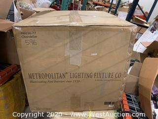 Metropolitan Lighting N6636-77 7 Light 1 Tier Chandelier
