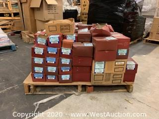 Pallet Of Screws And Bolts - Over (150) Boxes