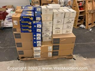 Pallet Of Door Hardware - Over (300) Items