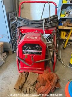 Lincoln Electric AC/DC Welder on Cart