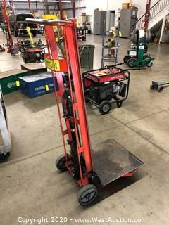 Wesco Foot Pedal Platform Lift Truck