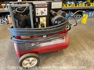 Sanborn Magna Force 2HP Air Compressor With Air Hose