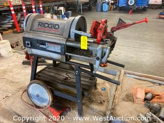 Rigid 1224 Pipe Threading Machine