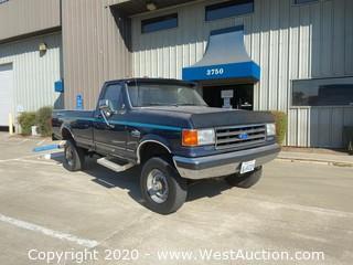 1991 Ford F350 XLT Lariat 4x4 Diesel Pickup Truck
