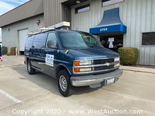 1998 Chevrolet 3500 Utility Van