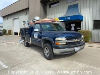 2002 Chevrolet 2500 HD Utility Truck