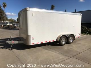 2002 Pace 7x16' Enclosed Trailer