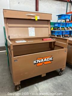 "Portable Knaack Box 61""x31""x46"""
