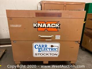 """Portable Knaack Box 60""""x30""""x58"""""""