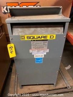 Square D Sorgel Single Phase Genera Purpose Transformer