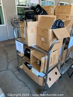 Contents of Cart; (10+) Andis Coffee Machines