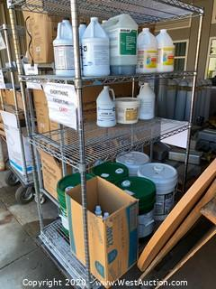Contents of Cart; Chemicals And Supplies