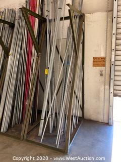 3' Steel Material Rack (Rack Only)