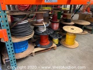 (25+) Partial Spools of Wire