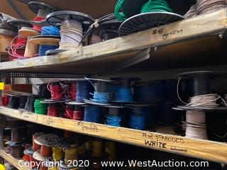(30+) Partial Spools of Wire