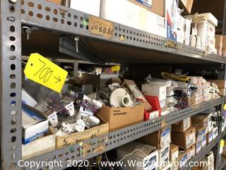 Contents of Shelf: Assorted Ballasts & Fixtures