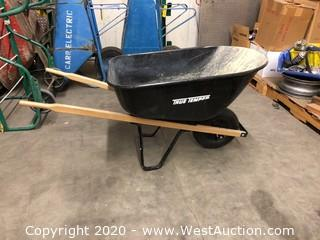 Wheelbarrow with Pneumatic Tire