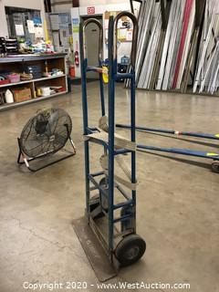Heavy Duty Appliance Dolly with Ratchet Strap