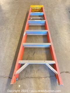Werner 6206 6ft Fiberglass Folding Ladder