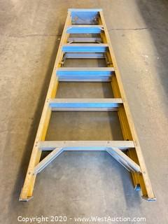 Werner 7206 6ft Fiberglass Folding Ladder