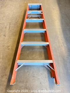 Louisville 6ft Fiberglass Folding Ladder