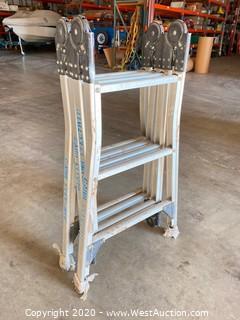 Estway 12ft Professional Adjustable Ladder M612
