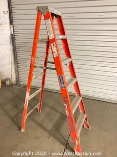 Louisville 6ft Fiberglass Folding Ladder FS1506