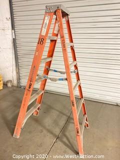 Werner 6ft Fiberglass Folding Ladder 7406