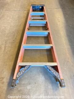 Werner 6306 6ft Fiberglass Folding Ladder